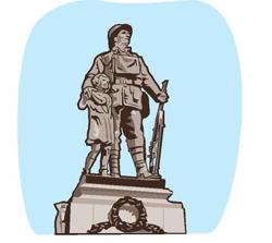 War Memorial on King Street, Alfreton